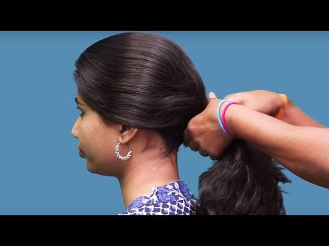 Everyday simple hair styles   Quick & Easy Hair styles   Hair styles Tutorials   she fashions