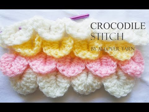 Crochet: Crocodile Stitch
