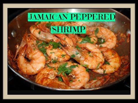 JAMAICAN PEPPERED SHRIMP 🔥🔥