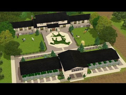Let's Speed Build: Serenity Kennels and Stables | Sims 3