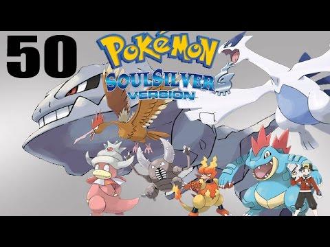 Let's Play Pokémon Soul Silver #50 - Fuchsia Gym! Slowking's Psychic Powers!