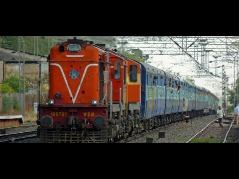 TRAIN SOUND EFFECTS  in India PART 2