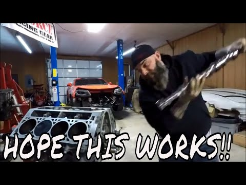 How To Install A Camaro ZL1 Camshaft!