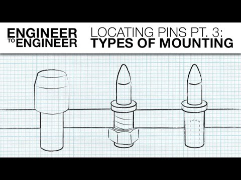 Locating Pins Pt. 3: Types of Mounting | Engineer to Engineer  | MISUMI USA