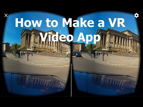 How to make a VR 360 Video app within Unity for Android