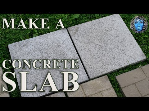 Make A Concrete Slab/Paver