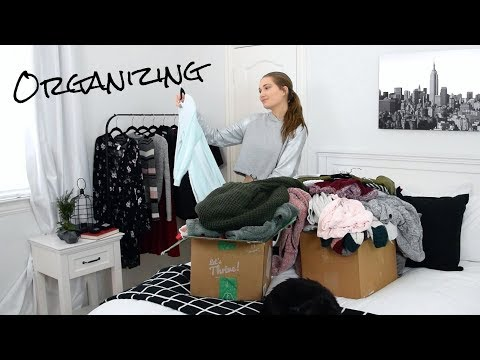 Spring Cleaning My Room & Bathroom (Time Lapse) // Organization