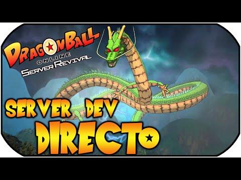 DRAGON BALL ONLINE GLOBAL DBOG SERVER DEV EN DIRECTO | #1 | CUSTEM