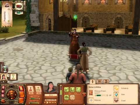 The Sims Medieval Constellation Confrontation Hubris Approach