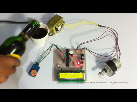 Alcohol Sensing Alert with Engine Locking Project