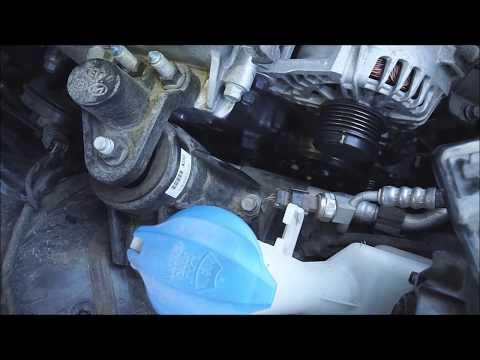 2014 Kia Forte EX Serpentine Belt Replacement