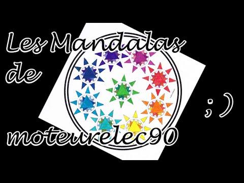 Mandalas et coloriages de moteurelec90