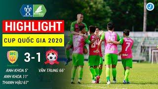 Highlight   Đồng Tháp - Hải Phòng   Cup Quốc Gia 2020   Hải Phòng gục ngã trước đội hạng Nhất