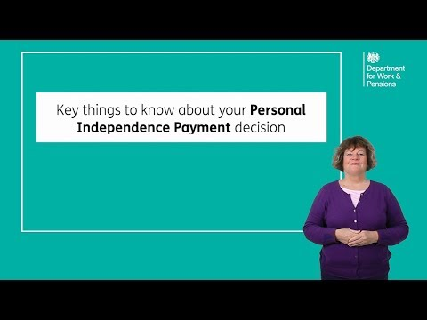 Key things to know about your Personal Independence Payment decision.