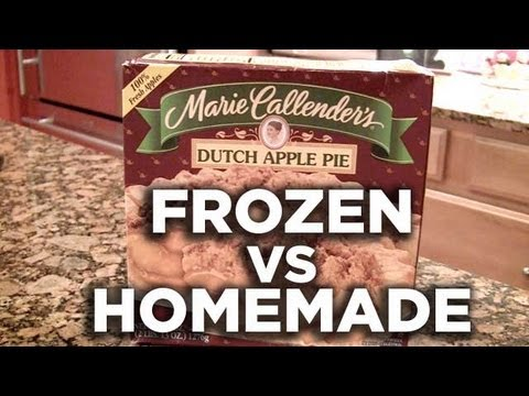 Is Marie Callender's Dutch Apple Pie Better Than Homemade? Freezerburns (Ep472)