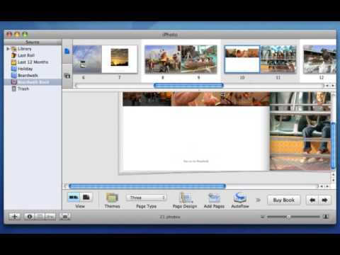 Apple iLife '06 Multimedia Tutorials Automatically Create an iPhoto Book