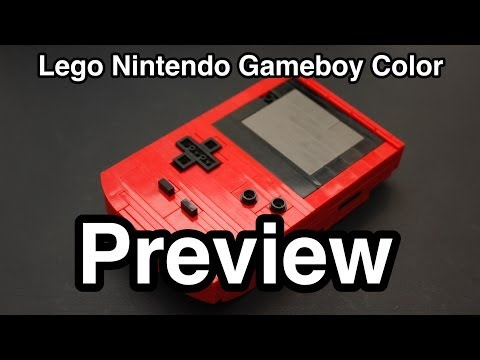 Lego Nintendo Gameboy Color (Preview)