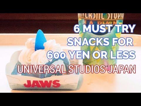 Best Snacks at Universal Studios Japan | JAPAN TRAVEL GUIDE