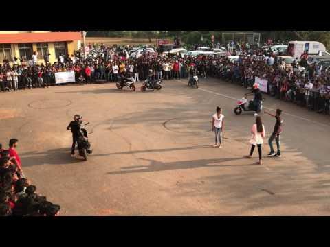 KTM & Dio Bike stunts Show