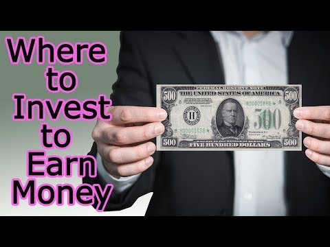 8 ways where to invest money and earn more money-How improve your financial income and attract money