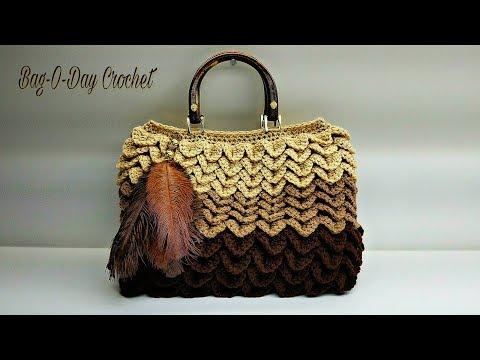 How To Crochet - Bag | Birds of a Feather Handbag Purse | Crochet Tutorial #475