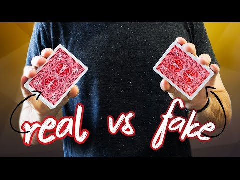 ORIGINAL vs. FAKE Bicycle Playing Cards