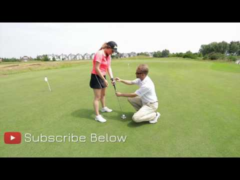 PUTTING DRILL PART 1 - HOW TO HOLD THE PUTTER