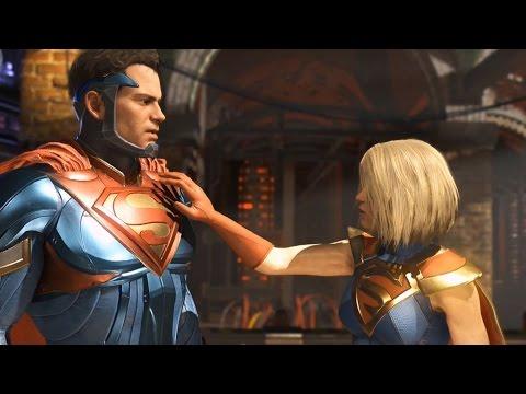 Injustice 2 - Superman vs Supergirl (Story Battle 69) [HD]