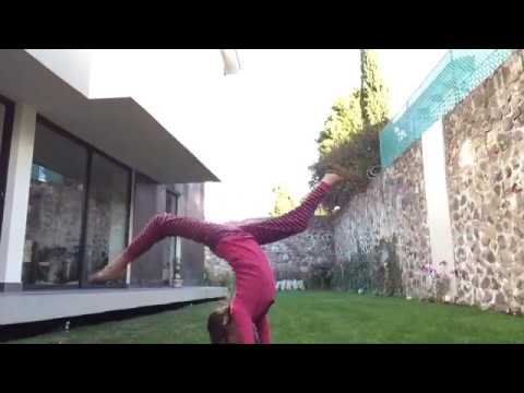 MY FIRST FRONT WALKOVER!