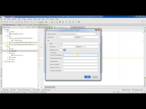 Android studio online app tutorial 22 # How to make app icon and apk