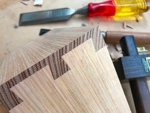 Woodworking, The Masters Art - The Perfect Dovetail