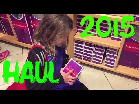 2015 American Girl Doll Haul with Grace Accessories