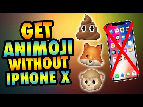 Get Animoji Without iPhone X! Animoji On ANY iPhone 6/7/8 iPad iPod iOS 11 No Jailbreak