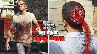GTA 5 - The Most Brutal and Shocking Deaths! (TOP 10)