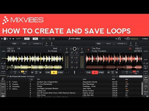 Cross DJ Tutorial: How to Create and Save Loops