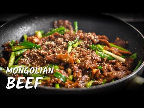 MONGOLIAN BEEF by Ulam Pinoy