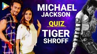 Tiger Shroff Plays The MOST SUPERB Michael Jackson QUIZ | Nidhhi Agerwal |Bollywood Hungamal