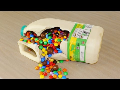 Chocolate Milk Bottle Surprise - Food Life Hacks