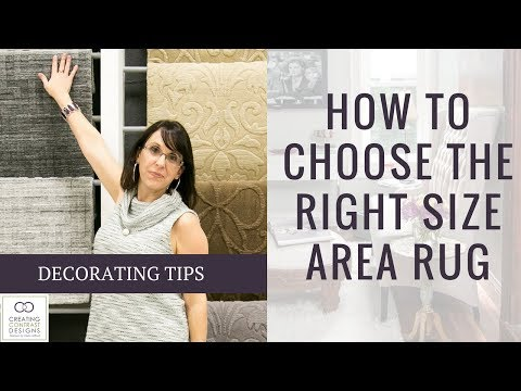 How to Choose the Right Size of Area Rug