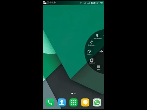 Coolpad note3 home screen mode