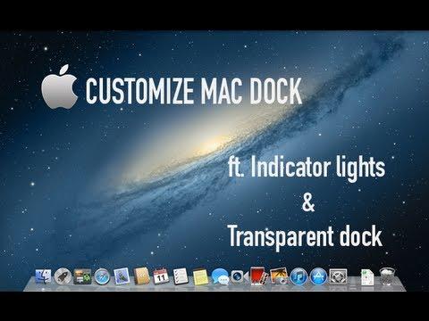 How to Change Mac Dock & Indicator Lights