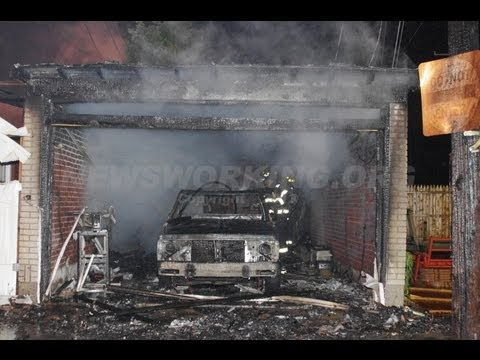 1ST Alarm Plus Extra Engine for Garage Fire | ALLENTOWN, PA 05.26.13