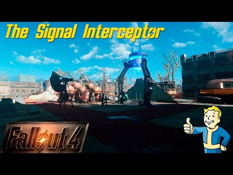 Fallout 4 - The Signal Interceptor building