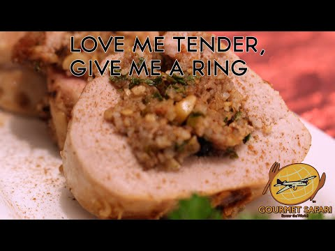 Dried Cranberry, Nut & Bulgur Wheat-Stuffed Pork Tenderloin   Gourmet Safari