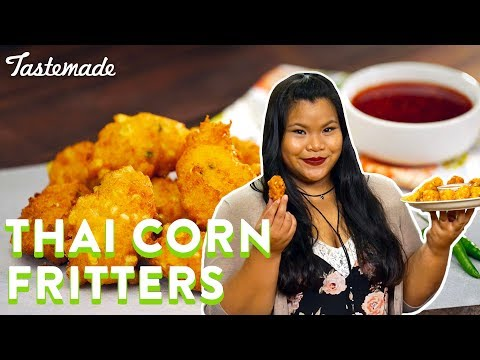 Thai Corn Fritters | Good Times With Jen