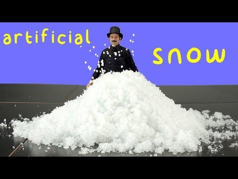 Sodium Polyacrylate vs Sodium Polyacrylate (Fake Snow Type).