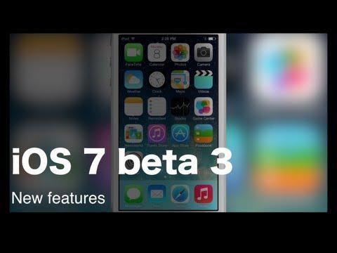 Quick take: iOS 7 beta 3