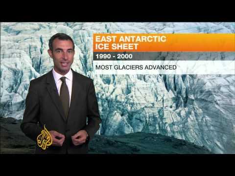 East Antarctic ice sheet warming up