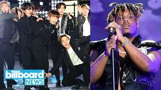 BTS' Sweet Moment With Ariana Grande, Juice WRLD's Family Speaks Out & More! | Billboard News