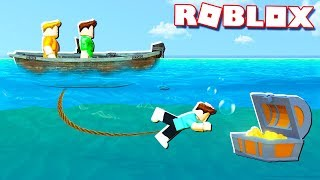 Roblox Adventures - BUILD A BOAT TO GET FREE ROBUX!? (Build a Boat for Treasure)